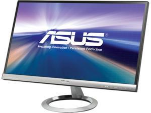 "ASUS Designo MX239H Silver / Black 23"" 5ms (GTG) HDMI Widescreen LED Backlight ..."