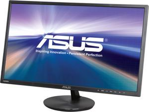 "ASUS VN248H-P 24"" (Actual size 23.8"") Full HD 1920 x 1080 VGA, 2x HDMI MHL Compatible Built-in Speakers Super Narrow Frame Design LED Backlit IPS Monitor"