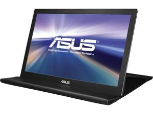 "ASUS MB169B+ 16"" (Actual size 15.6"") 16:9 Widescreen LED Backlight Full HD Portable USB 3.0 Asus-Exclusive Extreme Low Motion Blur SYNC with Eye Care Technology USB-powered IPS Portable Monitor"