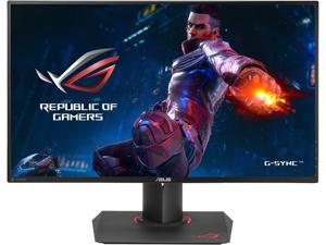 "ASUS ROG Swift PG279Q Black 27"" 165Hz 2560x1440 2K 4ms NVDIA G-SYNC, 350cd/m2, 1000:1, DP, HDMI,  IPS Built-in Speakers, Tilt, Swivel, Pivot, Height Adjustable, VESA mount"
