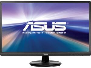 "ASUS VA249HE 24"" (Actual size 23.8"") Full HD 1920 x 1080 HDMI VGA Asus Eye Care with Ultra-Low Blue-Light & Flicker-Free Technology LED Backlit LCD Monitor"
