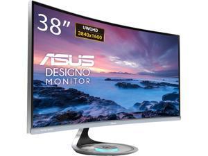 "ASUS Designo Curve MX38VC 37.5"" Monitor UWQHD IPS Eye Care with Qi Charging, DP, HDMI, Adaptive-Sync"