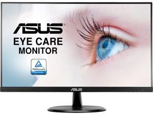 "ASUS VP249HE 24"" (Actual size 23.8"") Full HD 1920 x 1080 Up to 75Hz HDMI VGA Asus Eye Care with Ultra Low Blue-Light Filter & Flicker-Free Frameless LED Backlit IPS Monitor"