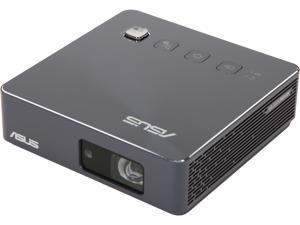 ASUS ZenBeam S2 1280 x 720 500 Lumens DLP Portable LED Projector, USB-C, Built-in 6000mAh Battery, Short Throw, Horizontal & Vertical Keystone Adjustment, Auto Focus, HDMI