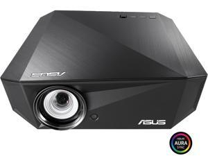 ASUS F1 LED Projector, FULL HD (1920 x 1080), 1200 Lumens, Short Throw, Horizontal & Vertical Keystone Adjustment , Auto Focus, 2.1 Channel Audio, Audio by Harman Kardon, Wireless Projection, HDMI