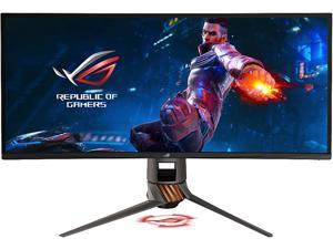 "ASUS ROG Swift PG349Q Ultra-wide Curved Gaming Monitor - 34"" 21:9 Ultra-wide QHD (3440x1440), overclockable 120Hz , G-SYNC"