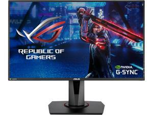"ASUS VG278QR 27"" Full HD 1920 x 1080 165Hz 0.5ms DisplayPort HDMI DVI-D G-SYNC Compatible Asus Eye Care Flciker-Free Technology Low Blue Light Built-in Speakers Backlit LED Gaming Monitor"