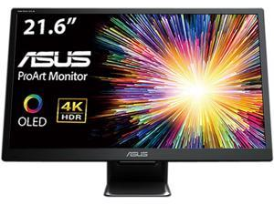 "ASUS ProArt PQ22UC 21.6"" 3840x2160 True 4K Resolution 0.1ms 2xUSB Type-C Micro HDMI HDR-10 Support SPLENDID Video Preset Non-Glare Widescreen Backlit LCD OLED Monitor"