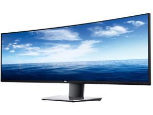 """Dell UltraSharp DELL-U4919DW 49"""" 5120 x 1440 8 ms (Normal), 5 ms (Fast) 60 Hz HDMI, DisplayPort, USB Curved Monitor"""