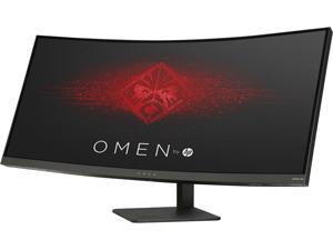 "HP Omen X 35"" 4ms (GTG) 100 Hz NVIDIA G-Sync 2K Ultra WQHD Curved LED Backlight Monitor, 3440 × 1440, 2500:1, 300 cd/m2, HDMI, USB, Tilt, Height, VESA Mountable"