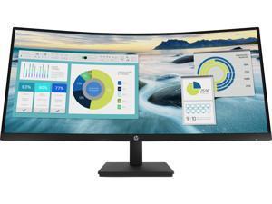 "HP P34hc G4 21Y56AA#ABA 34"" UWQHD 3440 x 1440 (2K) 100 Hz HDMI, DisplayPort, USB-C Built-in Speakers Curved Monitor"