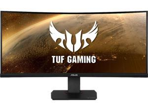 "ASUS TUF Gaming VG35VQ Curved Gaming Monitor 35"" WQHD (3440 x 1440), 100Hz, Extreme Low Motion Blur, Adaptive-Sync, 1ms (MPRT)"