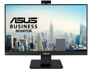 "ASUS BE24EQK 23.8"" Full HD 1920 x 1080 5 ms (GTG) D-Sub, HDMI, DisplayPort Business Monitor, Frameless, Built-in Adjustable 2MP Webcam, Mic Array, Stereo Speaker, Video Conference"