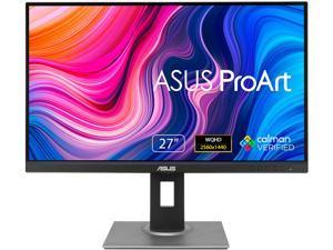 """ASUS ProArt Display PA278QV 27"""" WQHD 2560 x 1440 Professional Monitor, 100% sRGB/Rec. 709 Delta E < 2, IPS, DisplayPort HDMI DVI-D Mini DP, Anti-glare, Tilt Pivot Swivel Height Adjustable"""