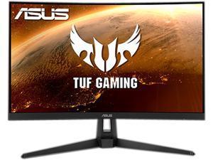 "ASUS TUF Gaming 27"" 1440P HDR Curved Monitor (VG27WQ1B) - QHD (2560 x 1440), 165Hz (Supports 144Hz), 1ms, Extreme Low Motion Blur, Speaker, FreeSync Premium, VESA Mountable, DisplayPort, HDMI, Black"