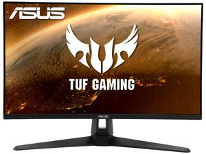 "ASUS TUF Gaming VG27AQ1A 27"" HDR Gaming Monitor, WQHD (2560 x 1440), 170Hz (Supports 144Hz), IPS, 1ms, G-SYNC Compatible Ready, Extreme Low Motion Blur, Eye Care, 2xHDMI, DisplayPort, HDR 10"