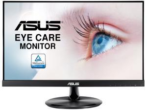 "ASUS VP229Q 21.5"" Monitor, 1080P Full HD, 75Hz, IPS, FreeSync/Adaptive-Sync, Eye Care, HDMI DisplayPort VGA, Frameless, VESA Wall Mountable"