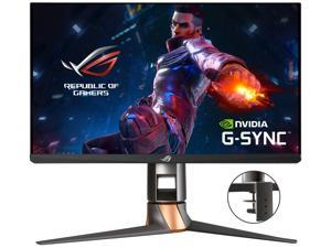"ASUS ROG Swift 360Hz PG259QNR 24.5"" HDR Gaming Monitor, 1080P Full HD, Fast IPS, 1ms, G-SYNC, ULMB, NVIDIA Reflex Latency Analyzer, HDMI DisplayPort USB, Desk Mount Kit, VESA Wall Mountable, HDR10"