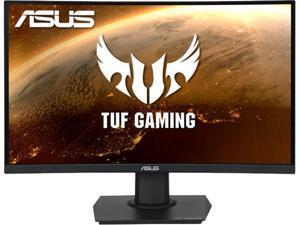 "ASUS TUF Gaming VG24VQE 24"" (23.6"" Viewable) Full HD 1920 x 1080 1ms (MPRT) 165Hz HDMI, DisplayPort FreeSync Premium Curved Gaming Monitor"