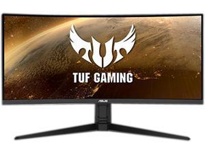 "ASUS TUF Gaming VG34VQL1B 34"" Curved HDR Monitor, WQHD (3440 x 1440), 165Hz, 1ms, Extreme Low Motion Blur, FreeSync Premium, Eye Care, 2 x DisplayPort 2 x HDMI USB, Height Adjustable, DisplayHDR 400"