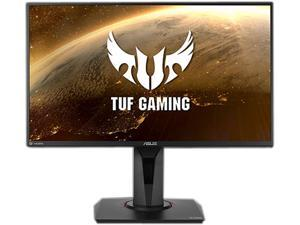 "ASUS TUF Gaming VG259QR 24.5"" Gaming Monitor, 1080P Full HD, 165Hz (Supports 144Hz), 1ms, Extreme Low Motion Blur, G-SYNC Compatible ready, Eye Care, 2 x HDMI DisplayPort, Shadow Boost"