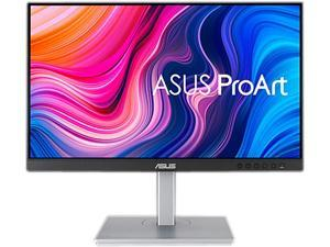 """ASUS ProArt PA247CV 24"""" (23.8"""" Viewable) 75Hz 1080P FHD IPS USB Hub USB-C HDMI DisplayPort with Daisy-chaining, Calman Verified, Height Adjustable, Pivot, Swivel, Tilt Monitor with Built-in Speakers"""