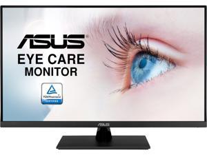 "ASUS 32"" (31.5"" Viewable) VP32UQ 4K HDR UHD 3840 x 2160 IPS, 100% sRGB, HDR10, Speakers, FreeSync, Low Blue Light, VESA Mount, Frameless, DisplayPort, HDMI, Tilt Monitor"