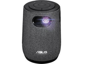 ASUS ZenBeam Latte L1 Portable LED Mini Smart Wi-Fi Projector - 300 Lumens, Native 720P HD, Harman Kardon 10 W Bluetooth Speaker, 3-hour Video Playback, Wireless Projection, HDMI, AptoideTV