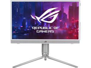 """ASUS ROG Strix 15.6"""" 1080P Portable Gaming Monitor (XG16AHP-W) - White, Full HD, 144Hz, IPS, G-SYNC Compatible, Built-in Battery, Kickstand, USB-C Power Delivery, Micro HDMI, ROG Tripod, For Console"""