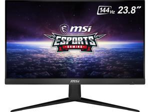 "MSI Optix G241 24"" (Actual size 23.8"") Full HD 1920 x 1080 1ms (MPRT) 144Hz 2 x HDMI, DisplayPort AMD FreeSync Anti-Glare Frameless Design Backlit LED IPS Gaming Monitor"