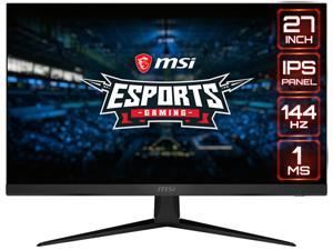 "MSI Optix G271 27"" Full HD 1920 x 1080 1ms (MPRT) / 4ms (GTG) 144Hz 2xHDMI DisplayPort AMD FreeSync Anti-Glare Frameless Design Backlit LED IPS Gaming Monitor"