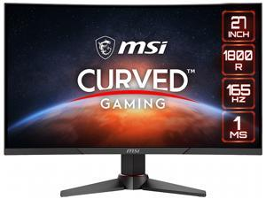 "MSI Optix MAG270VC2 27"" Full HD 1920 x 1080 1ms (MPRT) 165 Hz HDMI, DisplayPort FreeSync (AMD Adaptive Sync) Height Adjustable Curved Gaming Monitor"