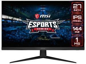 "MSI Optix G271 27"" Full HD 1920 x 1080 1ms (MPRT) 144Hz 2x HDMI DisplayPort AMD FreeSync Anti-Glare Frameless Design Backlit LED IPS Gaming Monitor"
