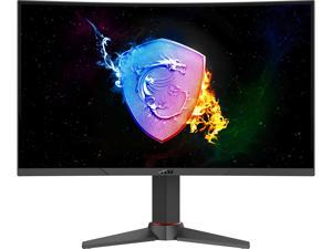 "MSI Optix MAG271VCR 27"" Full HD 1920 x 1080 1ms (MPRT) 165Hz 2 x HDMI, DisplayPort FreeSync Height Adjustable Curved Gaming Monitor"