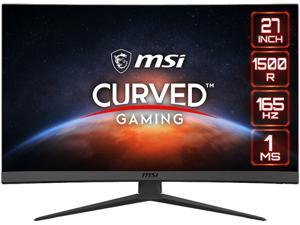 "MSI Optix G27C6 27"" Full HD 1920 x 1080 165 Hz 2 x HDMI, DisplayPort FreeSync Curved Gaming Monitor"