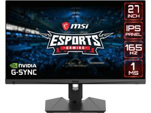 "MSI Optix MAG274R2 27"" Full HD 1920 x 1080 IPS 165Hz 1ms HDMI, DisplayPort, USB G-Sync Compatible Gaming Monitor"