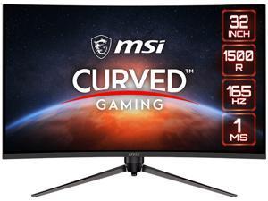 "MSI Optix AG321CR 32"" (31.5"" Viewable) 1920 x 1080 165Hz 1ms HDMI, DisplayPort, USB FreeSync Premium Curved Gaming Monitor"