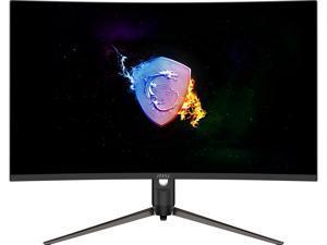 "MSI Optix AG321CQR 32"" (31.5"" Viewable) QHD 2560 x 1440 (2K) 165Hz HDMI DisplayPort, Tilt Swivel Pivot Height Adjust AMD FreeSync Premium Curved Gaming Monitor"