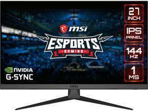 """MSI Optix G272 27"""" Full HD 1920 x 1080 144 Hz HDMI, DisplayPort NVIDIA G-Sync Gaming Monitor"""