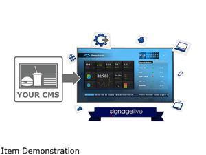 SIGNAGELIVE Digital Signage Software SLL-1-1