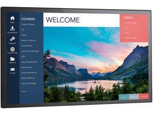 "NEC Display MultiSync EX241UN-PT-H 23.8"" LCD Touchscreen Monitor - 16:9 - 6 ms"