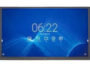 """NEC CB861Q 86"""" Ultra HD Interactive Digital Signage with integrated 10pt IR Touch and Built in SoC w/ Whiteboarding and Wireless Presenting Software"""