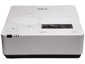 NEC NP-UM383WL-WK WXGA LCD, HLD, LED Ultra-Short Throw Projector 3800 lumens with Wall Mount