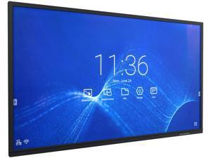 "NEC Display Solutions CB651Q-2 Black 65"" USB IR touch UHD Collaborative Display w/ Software"