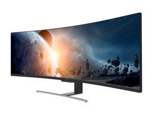 "VIOTEK SUW49C 49"" Ultrawide 1800R Curved Gaming Monitor, 32:9, 3840x1080P, 144Hz, HDMI, DP, 4ms, AMD FreeSync"