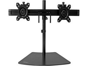 """StarTech.com ARMBARDUO Dual Monitor Stand - Crossbar - Supports Monitors up to 24"""" - Vesa Mount - Adjustable Computer Monitor Arm"""