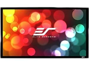 """Elite Screens SableFrame ER120WH1-A1080P3 Fixed Frame Projection Screen - 120"""" - 16:9 - Wall Mount"""
