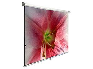 """Elite Screens Manual M120V Manual Projection Screen - 120"""" - 4:3 - Wall/Ceiling Mount"""