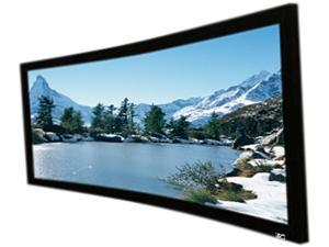 """Elite Screens Lunette Curve235-125W2 Fixed Frame Projection Screen - 125"""" - 2.35:1 - Wall Mount"""