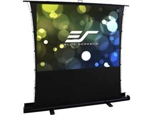"Elite Screens ezCinema Tab-Tension FT92XWH 92"" Manual Projection Screen"
